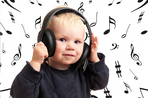 get your toddler into music