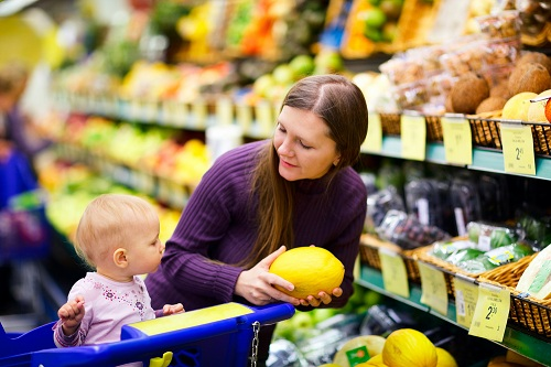 shopping advice for parents with babies