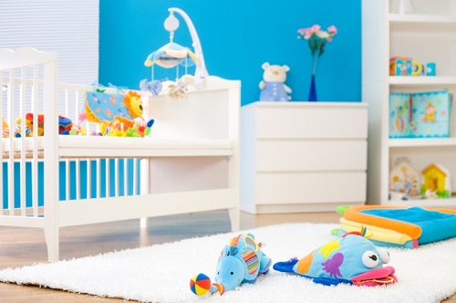 how to decorate a nursery cheaply