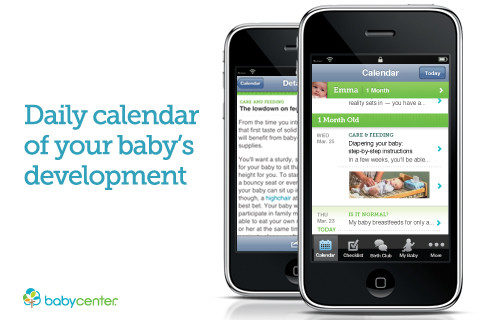 baby app for mums