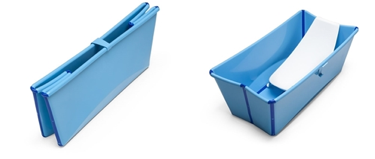 Foldable baby bath – perfect for small bathrooms!