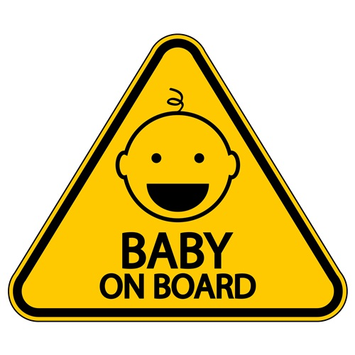 Baby on board signs: helpful or a hazard?