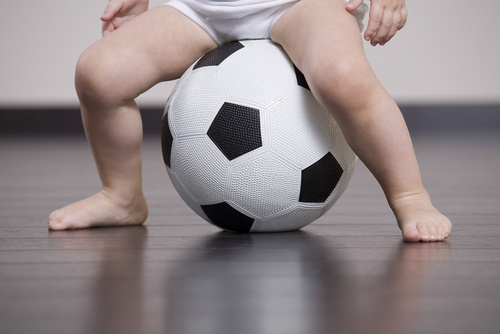 Is your baby a future footballer?