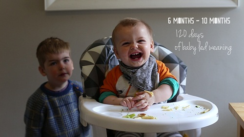 120 days of baby-led weaning - a video