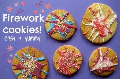 Remember Remember November with Fireworks Cookies!