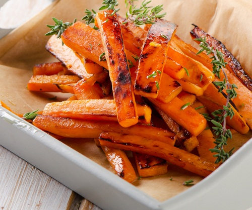 Baked Sweet Potato Fries - a Healthy BLW Spin on a Classic Fave!