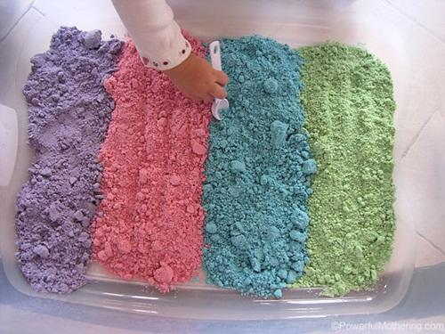 DIY Rainbow Cloud Dough (Taste-Safe)!