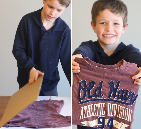 Teach Kids to Fold with This Ingenious Laundry Hack