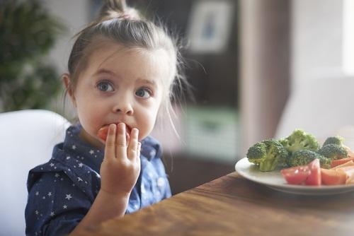 eating veg