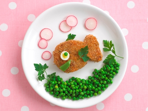 Salmon fishcake
