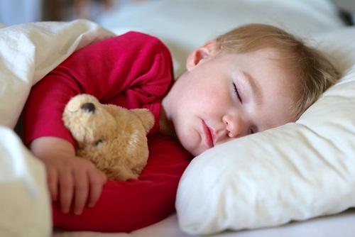 sleping toddler