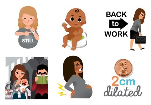 Pregnancy and Parenting Emojis