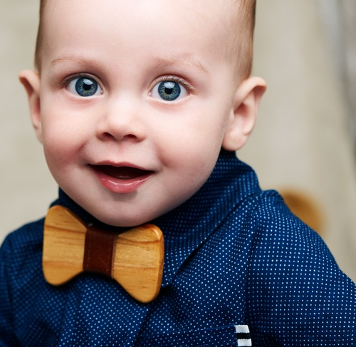 Baby with Bowtie