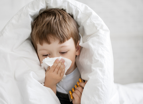 Child with allergy