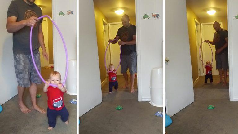 Baby hoop