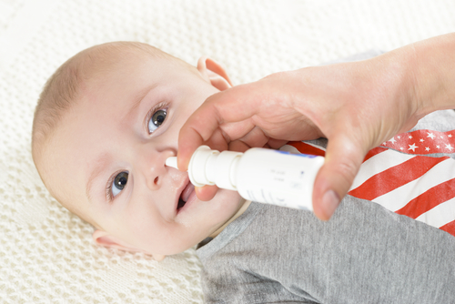 Baby nasal treatment