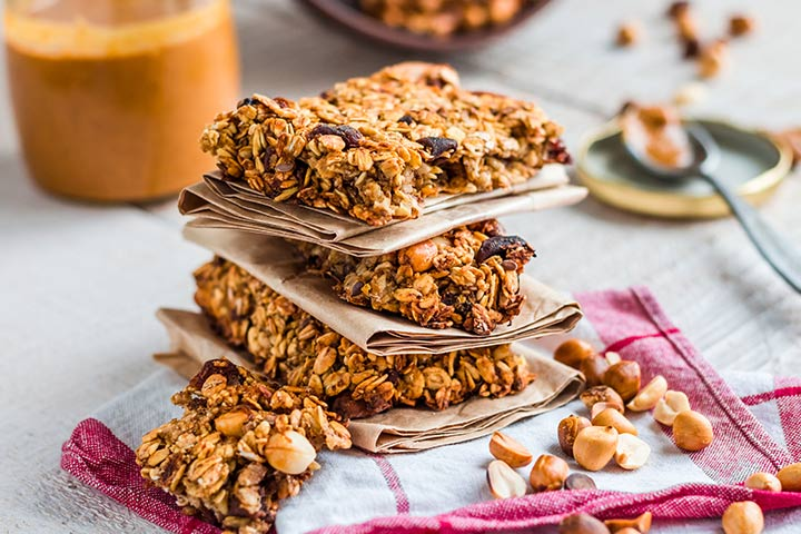 Peanut Butter and Chocolate Chip Energy Bars